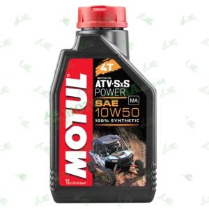 Масло моторное синтетика Motul ATV SxS Power 4T 10W50 1 литр