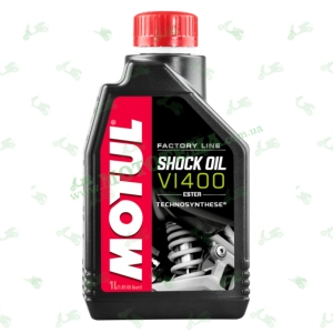 Масло для амортизаторов MOTUL Shock OIL Factory Line VI 400 ESTER 1 литр