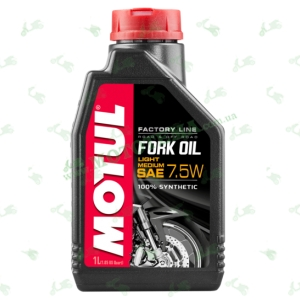 Масло для амортизаторов Motul Fork Oil Factory Line Light/Medium 7,5W 1 литр
