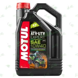 Масло моторное полусинтетика для квадроциклов MOTUL ATV-UTV Expert 4T 10W40 4 литра