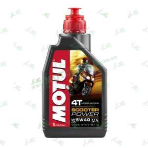 Масло моторное MOTUL Scooter Power 4T MA 5W-40 1 литр