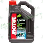 Моторное масло Motul Powerjet 4T 10W40 Technosythese 4л