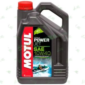 Моторное масло полусинтетика Motul Powerjet 4T 10W40 Technosythese 4л
