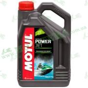 Моторное масло Motul Powerjet 2T Technosythese 4л