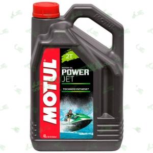 Моторное масло для гидроциклов полусинтетика Motul Powerjet 2T Technosythese 4л