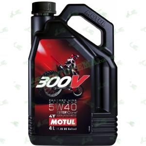 Масло Motul 300V 4T off road 5W40 4 литра