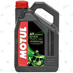 Масло Motul 5100 4T Technosynthese Ester 15W50 4 литра