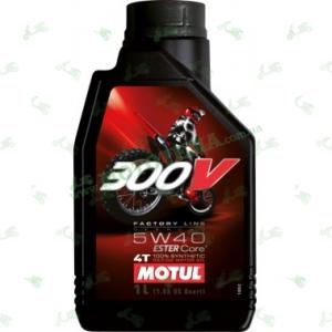 Масло Motul 300V 4T off road 5W40 1 литр