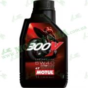 Масло Motul 300V 4T Factory Line 5W40 1 литр