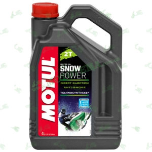 Масло Motul Snowpower 2T Technosynthese Ester 4 литра