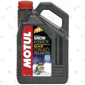 Масло Motul Snowpower 4T 0W40 Ester 4 литра