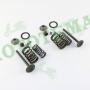 Клапан впускной + выпускной в сборе Delta/Alpha/Active/MX50V (SUZUKI) 110CC