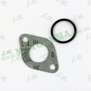 Прокладка патрубка карбюратора + уплотнительное кольцо Delta/Alpha/Active/Suzuki