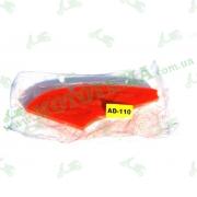 Элемент фильтра SUZUKI ADDRESS V-110 пропитаный (КРАСНЫЙ)