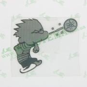 Наклейка Whistle Boy Yamaha, хром MOTOTECH