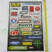 Наклейка A011 MOTOTECH