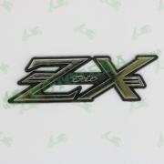 Наклейка HONDA DIO ZX, хром