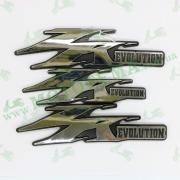 Наклейка JOG ZR(evolution) серебро