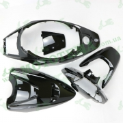 Комплект пластика NEXT ZONE SUPER ZR (крашенный черный)