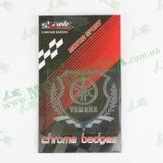 Наклейка Yamaha Shield, хром MOTOTECH