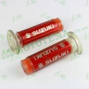 Ручка ZX-345 SUZUKI (пара) крепеж троса  (CH)
