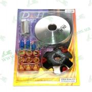 Вариатор передний GY6-50 тюнинг DLH  (CH)