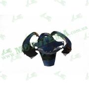 Комплект пластика  HONDA DIO AF-56 (крашенный черный)
