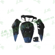 Комплект пластика  SUZUKI LETS 3 (крашенный черный)