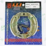 Колодки тормозные (барабан)  AD50  `SEE Sheng-E`  ТАЙВАНЬ