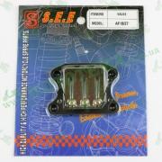Клапан лепестковый Honda DIO (AF-18, AF-27), TACT (AF-24, AF-30) `SEE Sheng-E` ТАЙВАНЬ