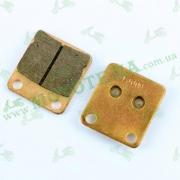 QM200GY-B(ASD) (DRAGON 200) Колодки задние
