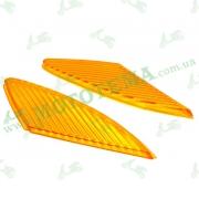 Стекло передних поворотов (пара) Viper F1 / F50