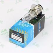 Лампа фары  галоген БЕЛАЯ  P15D-25-1 12V35/35W 1-лепесток