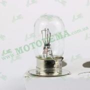 Лампа фары P15D-25-1 Honda DIO AF-27/28/30/31 12V/35W 1-лепесток