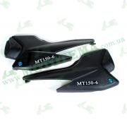Пластик боковина задняя (пара) MT150-6