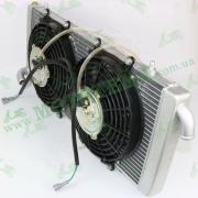 Радиатор охлаждения с эл.вентилятором, в сборе -- 800 UTV