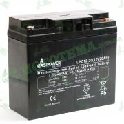 "Аккумулятор 12V 20Ah (АКБ тяговая) 167x77x181 LPС12-20 DZM ""GASPOWER"""