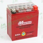 Аккумулятор (АКБ) гелевый MOTOTECH (высокий) 12V 7Ah YTX7L-BS 110x67x132
