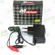 """Зарядное устройство для аккумулятора 12V 1A/ч """"MOTOTECH"""""""