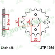 Звезда передняя JTF1264 16-428
