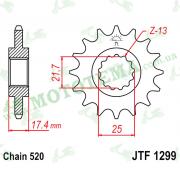 Звезда передняя JTF1299 14-520