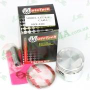 Поршневой комплект (поршень, палец, кольца) Suzuki ADDRESS V50, LET'S 4, STD 49cc 4T (CA42A) 'MOTOTECH' TW