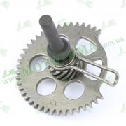 Храповик для скутеров с двигателем типа GY6 125-150 куб.см. (152QMI, 157QMJ)