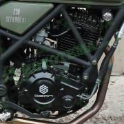 Двигатель в сборе 166FMM 250cc GEON - Terra-X-Road, Scrambler, CR6
