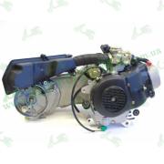 Двигатель в сборе 50cc 4T 139QMB (короткий, R10 колесо)