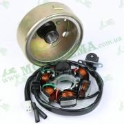 Генератор (6 катушек) двигатель125-150cc (GY6, 152QMI, 157QMJ)