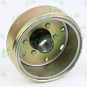 Ротор (магнит) генератора для 4х тактного китайского скутера с двигателем типа GY6 152QMI 157QMJ объемом 125-150 куб.см.
