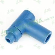 Свечной колпачок (насвечник) 90°, Т- образный SILICONE BLUE