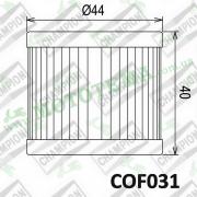 Масляный фильтр CHAMPION COF031 (X327)