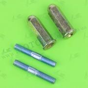 Шпильки глушителя М6x38 с гайками 4T GY6 125-150cc